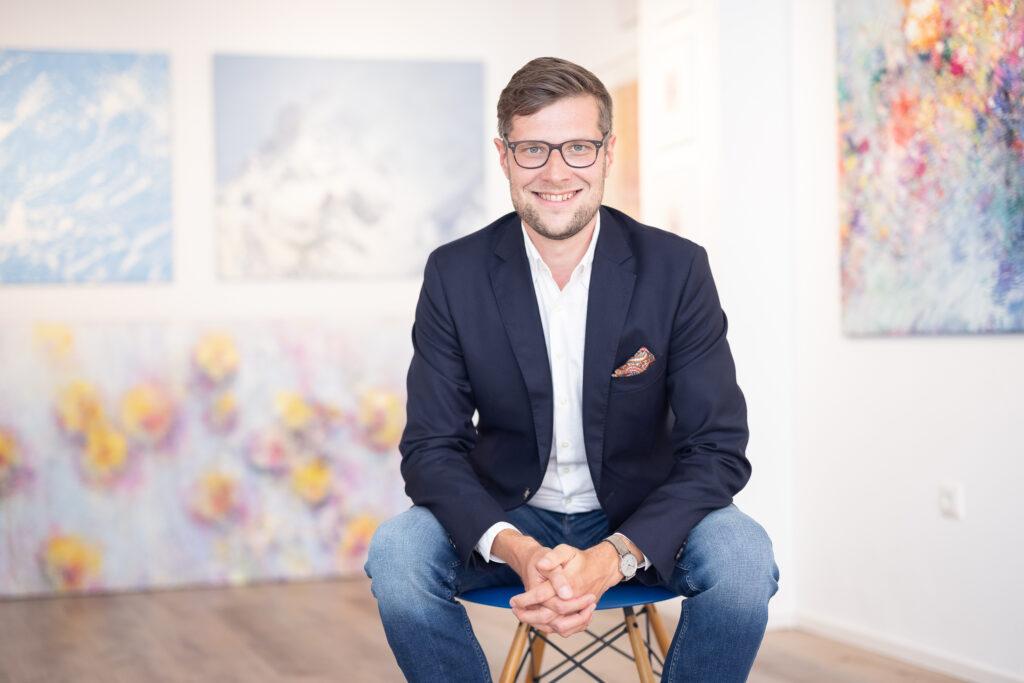 Portrait Daniel Schenk